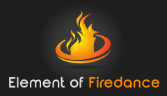Element of Firedance by Lydia Logo